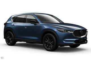 2021 Mazda CX-5 KF4WLA GT SKYACTIV-Drive i-ACTIV AWD SP Blue 6 Speed Sports Automatic Wagon