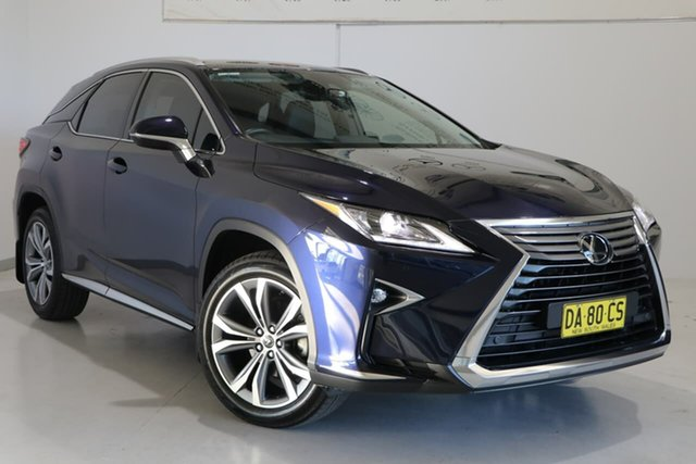 Used Lexus RX AGL20R RX300 Luxury Wagga Wagga, 2018 Lexus RX AGL20R RX300 Luxury Blue 6 Speed Sports Automatic Wagon