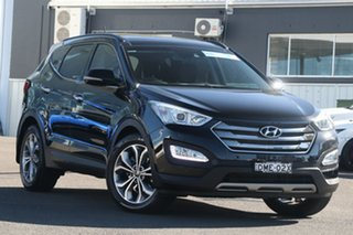 2014 Hyundai Santa Fe DM2 MY15 Highlander Black 6 Speed Sports Automatic Wagon.