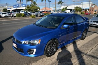 2017 Mitsubishi Lancer CF MY17 ES Sport Blue 6 Speed CVT Auto Sequential Sedan