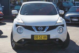 2016 Nissan Juke F15 Series 2 ST 2WD White 6 Speed Manual Hatchback.