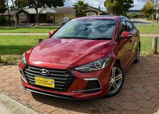 2017 Hyundai Elantra AD MY17 SR DCT Turbo Red 7 Speed Sports Automatic Dual Clutch Sedan.