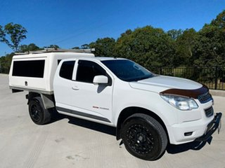 2015 Holden Colorado RG MY15 LS Space Cab White 6 Speed Sports Automatic Cab Chassis.