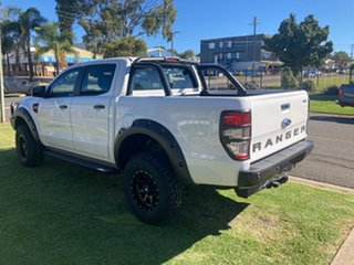 2017 Ford Ranger PX MkII MY18 XL 3.2 Plus (4x4) White 6 Speed Automatic Crew Cab Utility