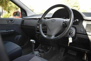 2006 Hyundai Getz TB MY06 Red 4 Speed Automatic Hatchback