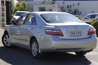 2007 Toyota Camry ACV40R Ateva Silver Pearl 5 Speed Automatic Sedan.