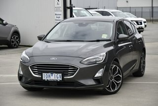 2018 Ford Focus SA 2019MY Titanium Grey 8 Speed Automatic Hatchback