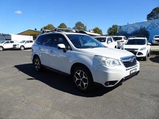 2013 Subaru Forester S4 MY13 2.5i-S Lineartronic AWD White 6 Speed Automatic Wagon.