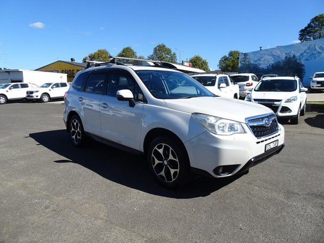 Used Subaru Forester S4 MY13 2.5i-S Lineartronic AWD Nowra, 2013 Subaru Forester S4 MY13 2.5i-S Lineartronic AWD White 6 Speed Automatic Wagon