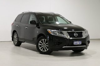 2014 Nissan Pathfinder R52 ST (4x4) Black Continuous Variable Wagon.