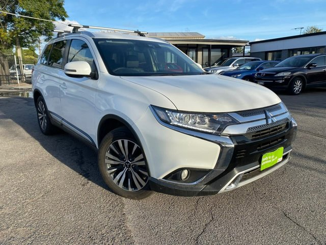 Used Mitsubishi Outlander ZL MY19 LS AWD Hillcrest, 2018 Mitsubishi Outlander ZL MY19 LS AWD White 6 Speed Sports Automatic Wagon
