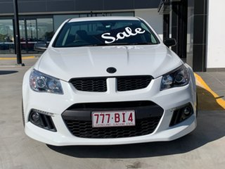 2015 Holden Special Vehicles Maloo Gen-F MY15 R8 Heron White 6 Speed Manual Utility