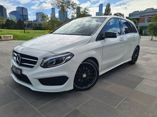 2016 Mercedes-Benz B-Class W246 806MY B200 d DCT White 7 Speed Sports Automatic Dual Clutch.