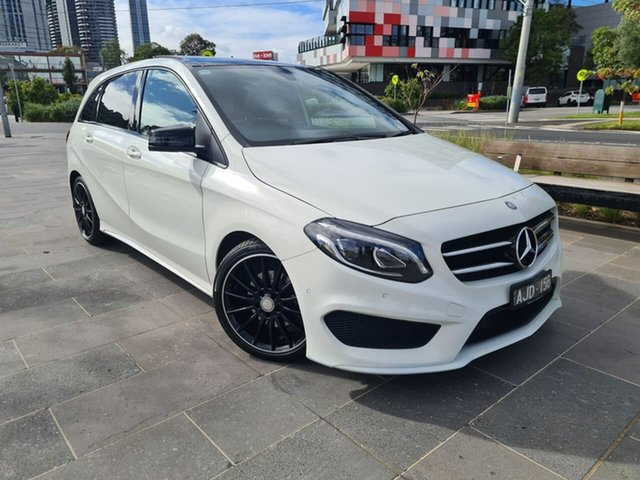 Used Mercedes-Benz B-Class W246 806MY B200 d DCT South Melbourne, 2016 Mercedes-Benz B-Class W246 806MY B200 d DCT White 7 Speed Sports Automatic Dual Clutch