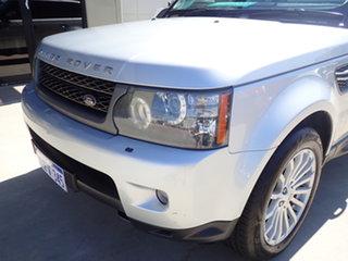 2011 Land Rover Range Rover Sport L320 11MY TDV6 Luxury Silver Birch 6 Speed Sports Automatic Wagon.