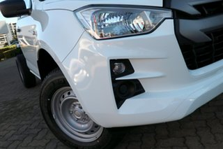 2021 Isuzu D-MAX RG MY21 SX 4x2 High Ride Mineral White 6 Speed Sports Automatic Cab Chassis.