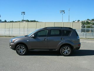2012 Mitsubishi Outlander ZH MY12 LS Grey 6 Speed CVT Auto Sequential Wagon