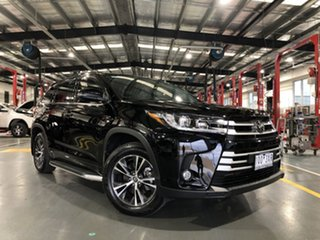 2019 Toyota Kluger GSU50R GX 2WD Eclipse Black 8 Speed Sports Automatic Wagon.