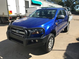 2016 Ford Ranger PX MkII XLS Double Cab Blue 6 speed Automatic Utility.