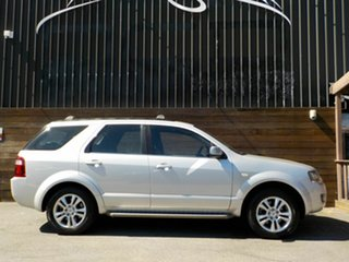 2011 Ford Territory SY MkII TS RWD Limited Edition Silver 4 Speed Sports Automatic Wagon