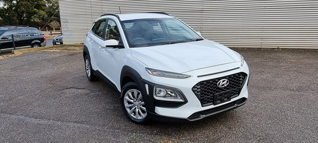 Used Hyundai Kona OS.2 MY19 Go 2WD Elizabeth, 2019 Hyundai Kona OS.2 MY19 Go 2WD White 6 Speed Sports Automatic Wagon