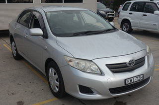 2007 Toyota Corolla ZRE152R Ascent Silver 4 Speed Automatic Sedan.