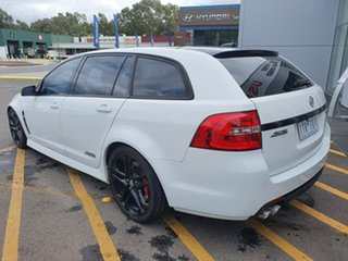 2017 Holden Commodore VF II MY17 SS V Sportwagon Redline White 6 Speed Sports Automatic Wagon