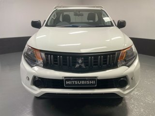 2018 Mitsubishi Triton MQ MY18 GLX 4x2 White 5 Speed Manual Cab Chassis.