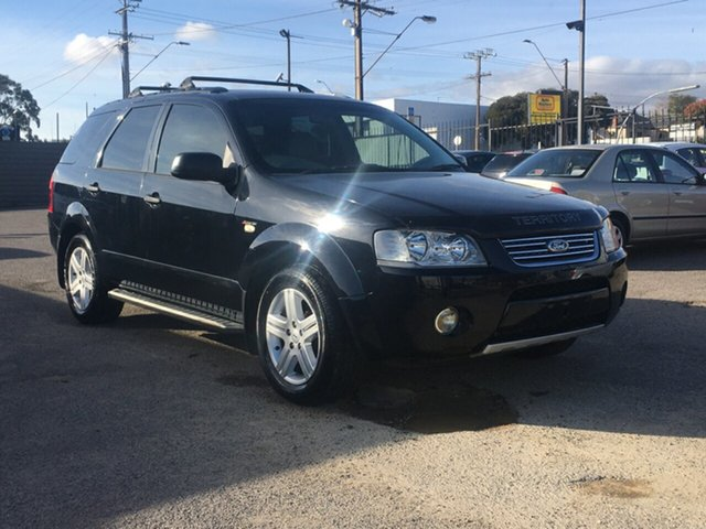 Used Ford Territory SY Ghia Blair Athol, 2007 Ford Territory SY Ghia Black 4 Speed Sports Automatic Wagon