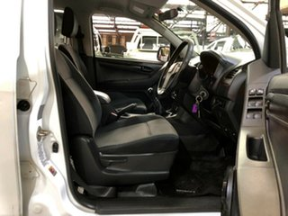 2014 Isuzu D-MAX MY14 SX Crew Cab 4x2 White 5 Speed Manual Utility