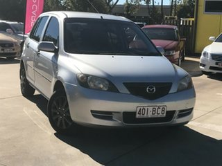 2003 Mazda 2 DY Neo Silver 4 Speed Automatic Hatchback.