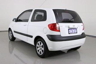 2008 Hyundai Getz TB Upgrade S White 5 Speed Manual Hatchback