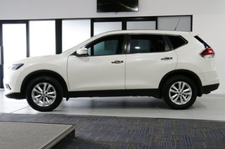 2017 Nissan X-Trail T32 ST (FWD) Ivory Pearl Continuous Variable Wagon