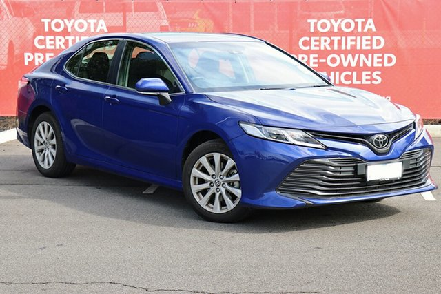 Pre-Owned Toyota Camry ASV70R Ascent South Morang, 2020 Toyota Camry ASV70R Ascent Lunar Blue 6 Speed Sports Automatic Sedan