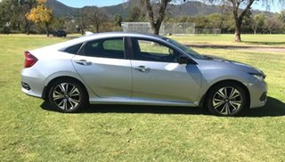2016 Honda Civic 10th Gen MY16 VTi-L Silver 1 Speed Constant Variable Sedan