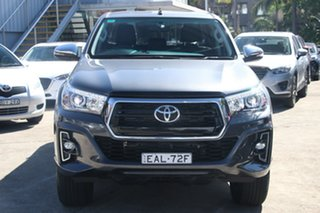 2018 Toyota Hilux GUN126R MY19 SR5+ (4x4) Graphite 6 Speed Manual Double Cab Pick Up