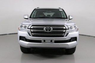 2016 Toyota Landcruiser VDJ200R MY16 GXL (4x4) Silver 6 Speed Automatic Wagon.