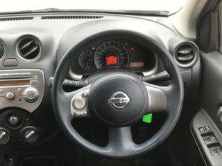 2010 Nissan Micra K13 ST-L Silver 4 Speed Automatic Hatchback.