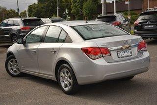 2010 Holden Cruze JG CD Silver 6 Speed Sports Automatic Sedan.