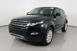 2015 Land Rover Range Rover Evoque LV MY16 TD4 150 Pure Black 9 Speed Automatic Wagon.