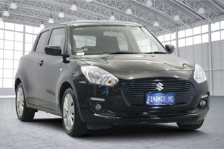 2019 Suzuki Swift AZ GL Navigator Black 1 Speed Constant Variable Hatchback.