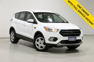 2017 Ford Escape ZG Ambiente (FWD) White 6 Speed Automatic SUV.