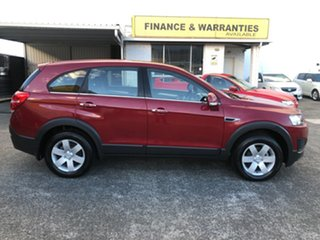2015 Holden Captiva CG MY15 7 LS Red 6 Speed Sports Automatic Wagon.