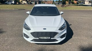 2020 Ford Focus SA 2020.25MY ST-Line Frozen White 8 Speed Automatic Hatchback.