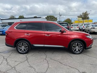 2016 Mitsubishi Outlander ZK MY17 Exceed 4WD Red 6 Speed Constant Variable Wagon.