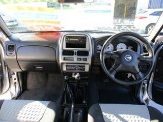 2009 Nissan Navara D22 STR 4x4 Silver 5 Speed Manual Dual Cab