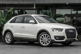 2012 Audi Q3 8U MY12 TFSI S Tronic Quattro White 7 Speed Sports Automatic Dual Clutch Wagon.