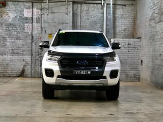 2019 Ford Ranger PX MkIII 2019.00MY Wildtrak White 10 Speed Sports Automatic Double Cab Pick Up.