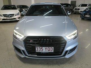 2019 Audi S3 8V MY19 S Tronic Quattro Silver 7 Speed Sports Automatic Dual Clutch Sedan.