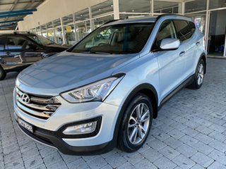 2013 Hyundai Santa Fe Elite Blue Sports Automatic Wagon.